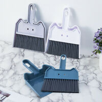 EB_ Desktop Sweep Broom Dustpan Cleaning Brush Table Corner Besom Cleaner Novelt
