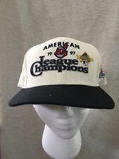 1997 Cleveland Indians American League Champions Snapback New Era Hat Cap