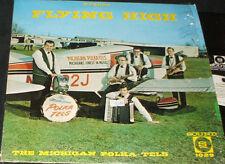 THE MICHIGAN POLKA-TELS Flying High PRIVATE POLKA LP AIRPLANE COVER
