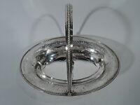 George III Basket - Georgian Neoclassical - English Sterling Silver -1782