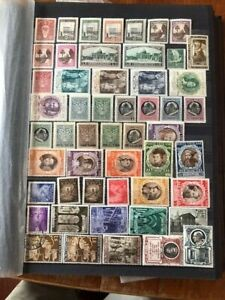 Selection of mainly Unmounted Mint on 5+ Pages