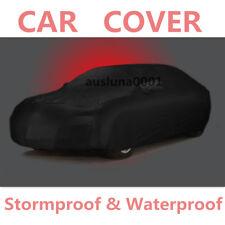 Stormproof Waterproof Breathable Senior Black CAR COVER Outdoor Dustproof 0168G
