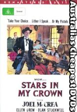 Stars In My Crown DVD NEW, FREE POSTAGE WITHIN AUSTRALIA REGION ALL