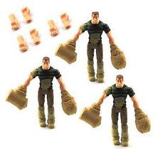 3 x Hasbro MARVEL LEGENDS SPIDER-MAN SANDMAN 3.5in. Action FIGURE Toys & 6 Hands