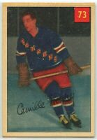 1954-55 Parkhurst Hockey #73 Camille Henry RC VG-EX Condition (2020-13)