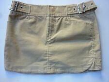 A X Armani Exchange Tan Corduroy Skirt size 4