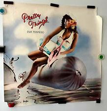 "Pretty Things_Original,Rare_1974 Silk Torpedo, Promo Poster_24""x24""_ Swan Song"