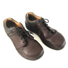 Red Wing Women's ASTMF 2413-11 Steel Toe Brown Work Leather  Shoes Size 10 Slip