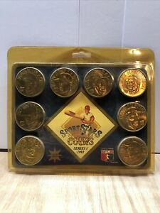 1992 Sport Stars Collector Coin Set -  Series 1 - Solid Brass!