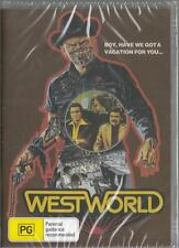 WESTWORLD - MICHAEL CRICHTON - NEW & SEALED DVD FREE LOCAL POST