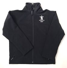 Official Licensed Olympic Vancouver 2010 Elevate Youth Jacket Navy Sz Med