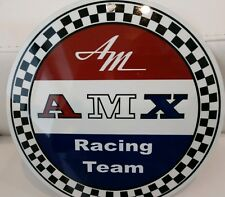 American Motors Corporation sign .. AMC Javelin AMX racing
