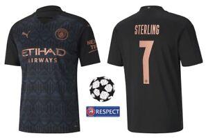Trikot Puma Manchester City 2020-2021 Away - Sterling 7 I Champions League