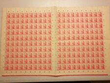 RARE VINTAGE 1941 DUTCH / NETHERLANDS INDIES / INDONESIA  3 cent Stamps sheet