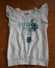98,104,116 Kanz T-Shirt Shirt kurzarm Rundhals Mädchen Jungen Baumwolle Weiß Gr