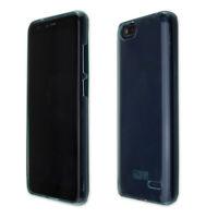 caseroxx TPU-Hülle für Gigaset GS100  in blau + Displayschutzfolie