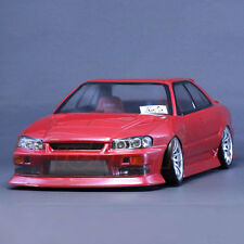 Pandora NISSAN SKYLINE ER-34 4 Door Sedan RC Car Drift 197mm Clear Body #PAB-145