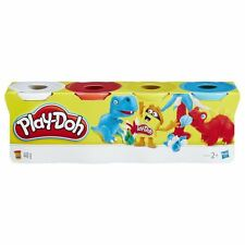 Play-Doh 4 Tub Classic Colours Set