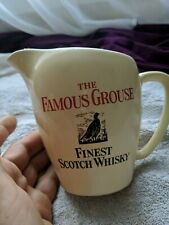 The Famous Grouse Scotch Whisky Water Jug by Wade PDM Made In England 14cm