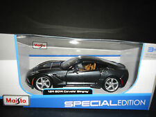 Maisto Chevrolet Corvette C7 Stingray 2014 Metallic Grey 1/24