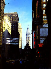 Lot of 22 Kodachrome Transparency Slides of Philadelphia