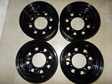 (4) Rims Steel Wheels Front Rear Kawasaki Brute Force 650