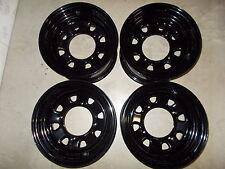 (4) Rims Steel Wheels Front Rear Suzuki Eiger King Quad Vinson 400 450 500 700