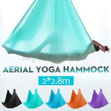 2x2.8M Aerial Yoga Hammock Sling Swing Anti-gravity Invertion Fitness Standard