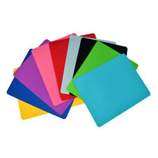 1pc 215 X175mm Square Mouse Pad Fabric Met For Game Computer Non-slip