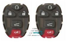 2PCS Keyless Remote 5 Button Key Pad Rubber for Buick LaCrosse Chevrolet Malibu