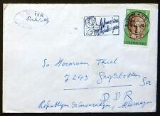 Esperanto – IDO – Brief mit Zusatzstempel Kongreso en Cardiff 1973