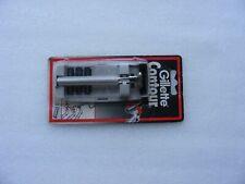 Vintage Gillette Contour Safety Razor 3 Blades Original Unopened