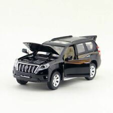 1:32 Scale Diecast 2016 Toyota Prado Black SUV Vehicle Car Model Toy W Sound