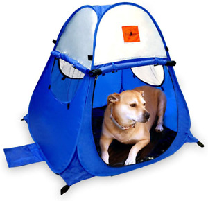 MYDEAL PRODUCTS Pop Up Dog Tent Outdoor Camping Large Doggy UV Sun Shelter for S