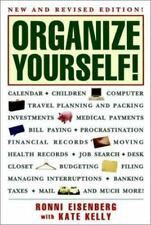 1997 ORGANIZE YOURSELF-RONNIE EISENBERG & KATE KELLY-NEW, REVISED-PAPERBACK BOOK