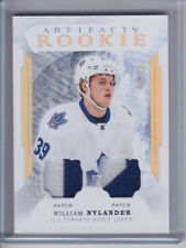 2016-17 WILLIAM NYLANDER ARTIFACTS DUAL PATCH #38/49 2 COLOR TORONTO MAPLE LEAFS