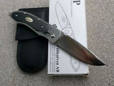 Fallkniven P Folder Knife P/3GCF  3G steel / Carbon Fiber