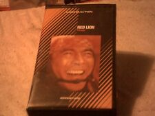 Red Lion Vhs action adventure martial arts Vhs Tape