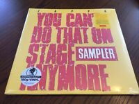 Frank Zappa YOU CAN'T DO THAT ON STAGE Limited RSD 2020 New Colored Vinyl 2 LP
