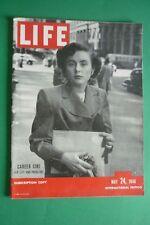 Magazine Life May 24 1948 Gwyned Remplissage Carrer Girl Jockey Club Of Buenos