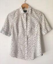 Paul Smith Black Label Women's Shirt Floral Short Sleeve Size 38 US Size 0