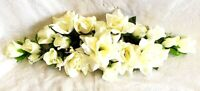 2 ft Artificial Roses Swag Silk Flowers Wedding Arch Table Runner Centerpiece