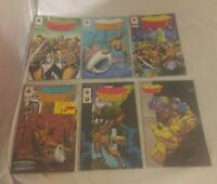 Lot of 9 Valiant Comics 1994 Armorines 1-9 (1 2 3 4 5 6 7 8 9 ) VF NM