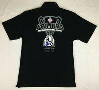 Collingwood Magpies : 2010 Premiers Black Polo Shirt - AFL - Mens - Size M