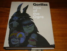 GORILLAZ-RISE OF THE OGRE BY CASS BROWNE&GORILLAZ-DOUBLE SIGNED COPY