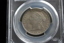 **1899, Small 1st 9** PCGS Graded Canadian Silver 50 Cent, **EF-45**
