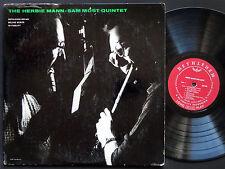 HERBIE MANN SAM MOST Quintet LP BETHLEHEM BCP-40 US 1956 JAZZ DG MONO Joe Puma