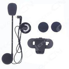 Microphone/Speaker/Headset+Clip for TCOMVB motocycle Helmet intercom Interphone