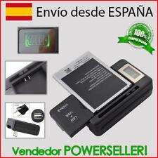 Cargador bateria con LCD + usb / Samsung Galaxy Ace/GT-S5830/S5670 Fit/S7250 Wav
