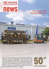 Toyota Gabelstapler News H/W 2006 50 Jahre 7LOP Hofbräu Easymover